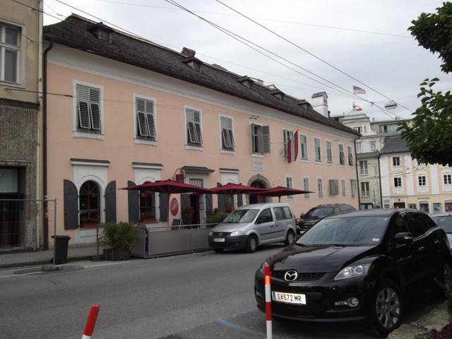 Mozarték lakóháza, az egykori táncmesterház - Salzburg