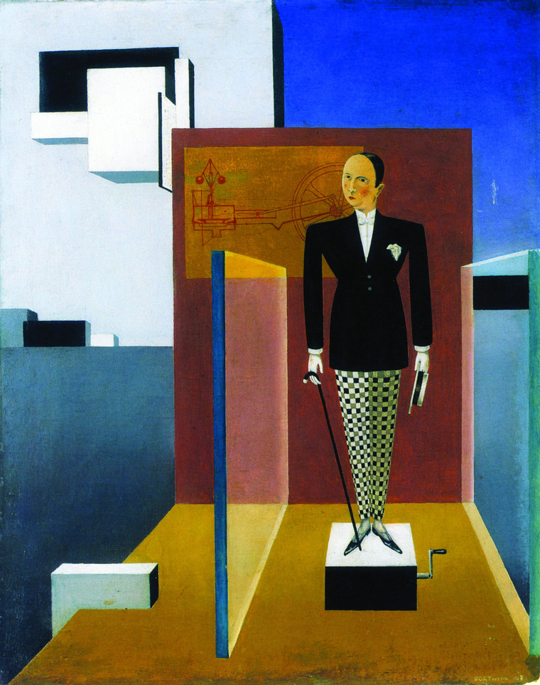 Bauhaus 5 Bortnyik Sándor Az új Ádám