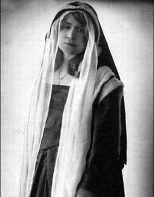 Márkus Emília a Macbeth Lady Annájaként 1943-ban