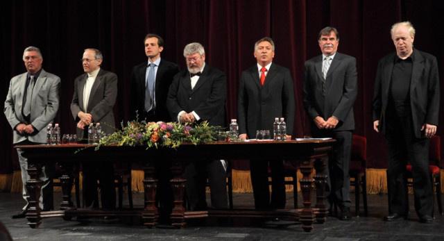 Keveházi Gábor, Fischer Ádám, Horváth Ádám, Szőcs Géza, Vass Lajos, Szabó Attila, Kovács János