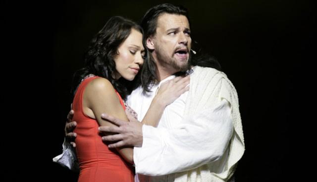 Jézus Krisztus Szupersztár: Gallusz Nikolett - Mária Magdolna, Tóth Attila - Jézus