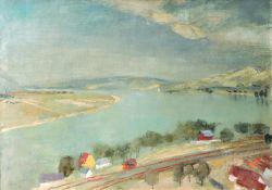 Szőnyi István: Szürke Duna (1935)