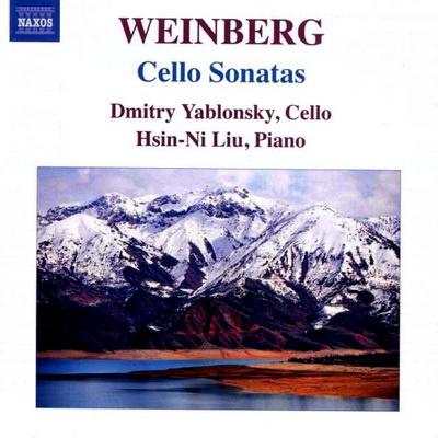 Weinberg: Csellószonáták (Naxos)