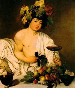 Caravaggio: Bachus (1597)