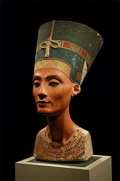 Nefertiti büszt