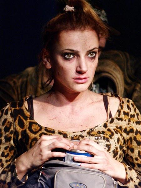 A két lengyelül beszélő szegény román - Borbély Alexandra  (Katon József Színház, Kamra - fotó: SzoFi)