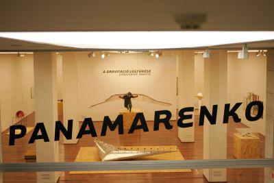 Panamarenko alkotás (Gerő Tamás fotója)