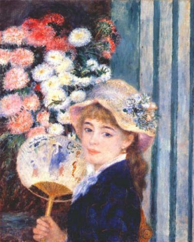 Auguste Renoir: Lány legyezővel