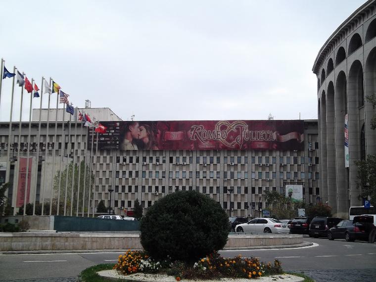 Ioan Dacian Nemzeti Operettszínház, Bukarest