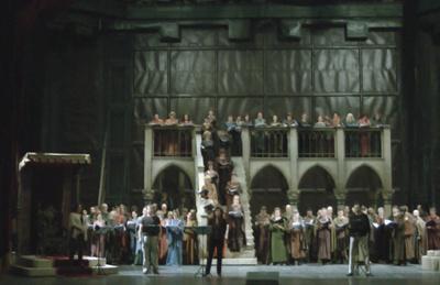 Bánk bán ősváltozat az Operaházban - próba
