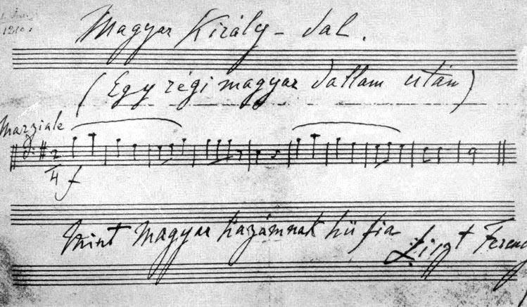 Liszt kotta