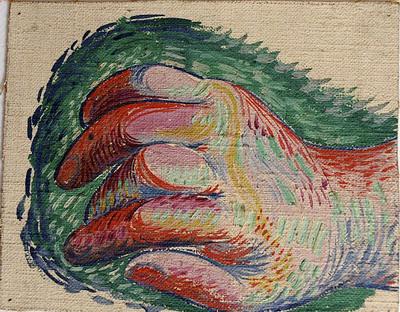 Picasso kéz-rajz