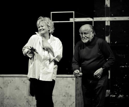 Básti Juli, Haumann Péter - Cabaret - próbafotók