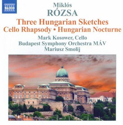MÁV Szimfonikus Zenekar, Naxos, Rózsa Miklós