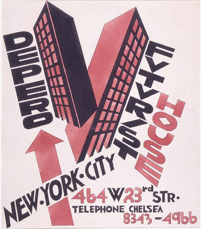 Depero: Futurist House (1928-29)