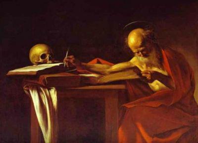 Caravaggio: Szent Jeromos (1608)
