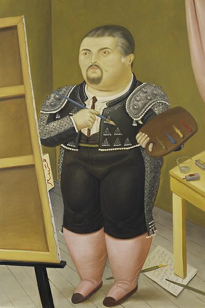 Fernando Botero: Önarckép (1992)