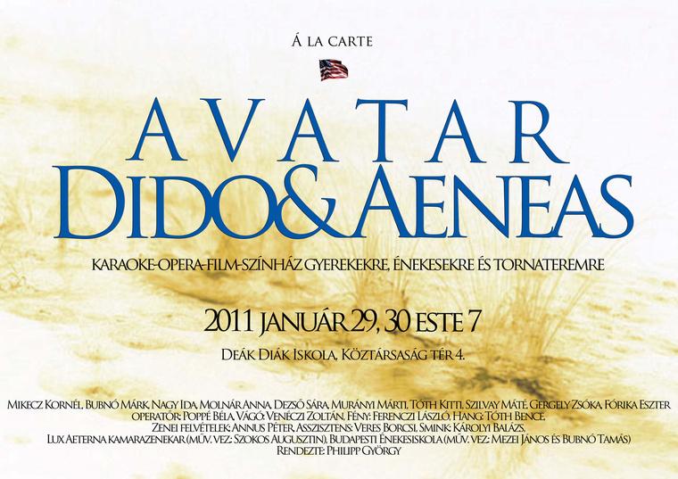 Avatar Dido plakát