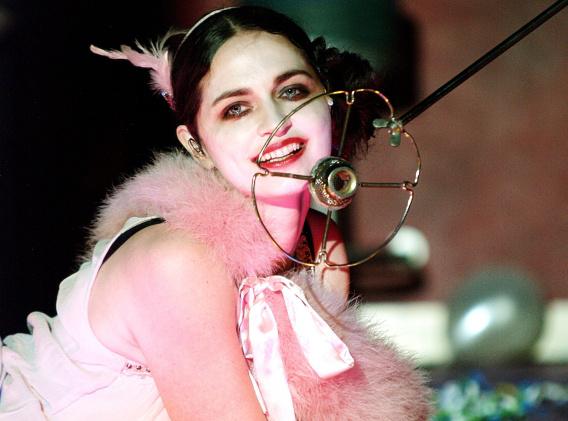 Cabaret - Marozsán Erika (Centrál Színház - fotó: SzoFi)