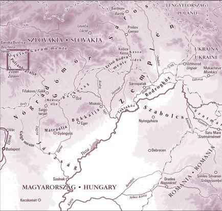 30 Pólyánhegyalja térkép