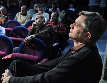 Csizmadia Tibor a társulati ülésen