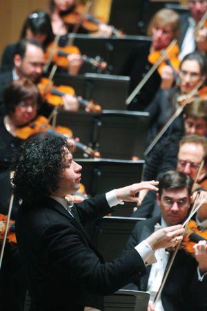 Gustavo Dudamel és a Los Angeles-i Filharmonikusok2011.02.02. Bartók Béla Nemzeti Hangversenyterem