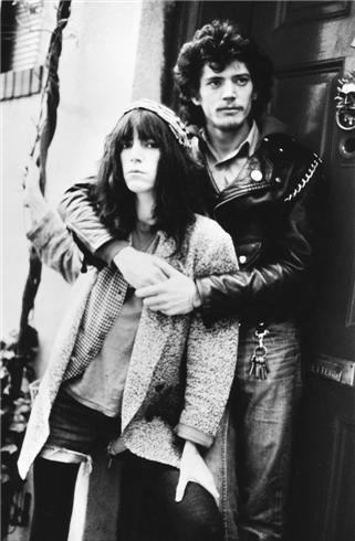 Robert Mapplethorpe és Patti Smith