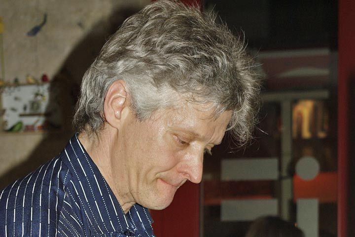 Pleszkán Frigyes (Fotó: iF Kávézó)