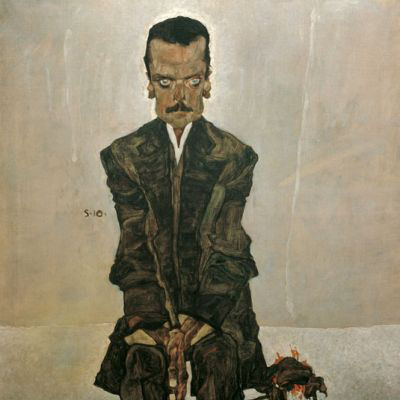Egon Schiele: Eduard Kosmac portréja (1910)
