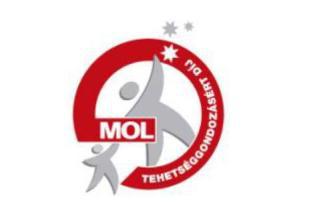MOL Tehetdéggondozási díj logó