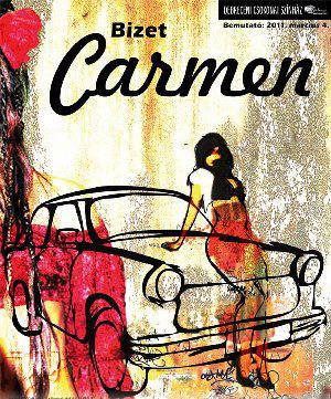 Carmen - plakát - Csokonai Színház