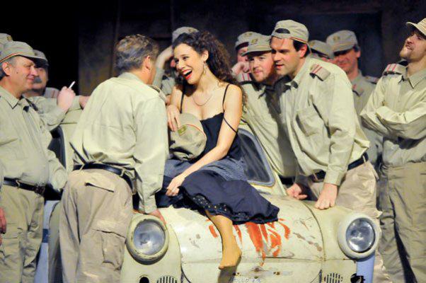 Amaya Dominguez (Carmen) Csokonai Színház