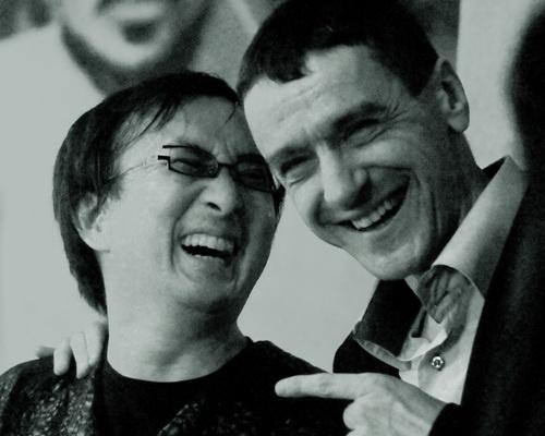 Sárik Péter és Makoto Kuriya