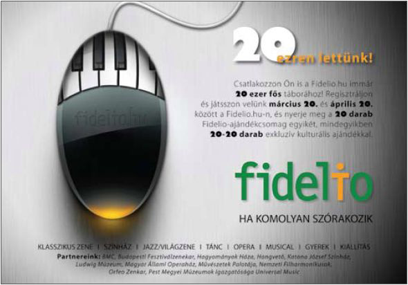 Fidelio jubileumi játék