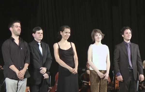 Klassz tehetségek gála 2011 - Alpár Balázs, Lajkó István, László Fruzsina, Móga Éva, Madaras Gergely