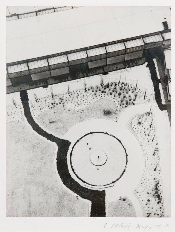 Moholy-Nagy László: Kilátás a berlini rádiótoronyból (1928)