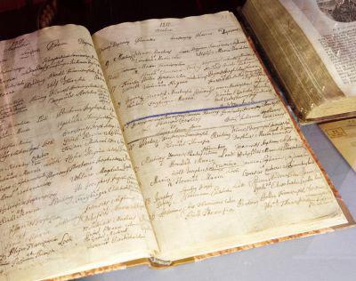 Liszt neve a keresztkönyvben