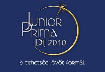 Junior Prima Díj 2010 logó