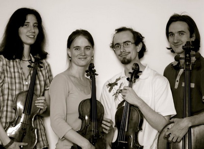 Krulik Kvartett (Bálint Angéla, Krulik Eszter, Tornyai Péter, Pintér Balázs)