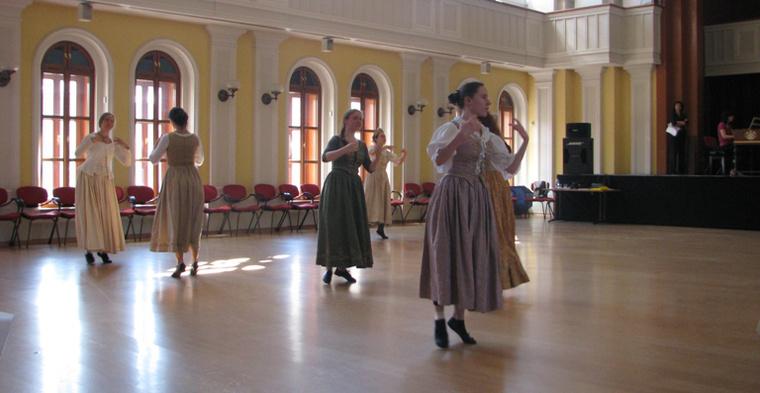 Főpróba korhű ruhákban - Soproni Régi Zenei Napok