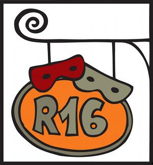 R16 logo