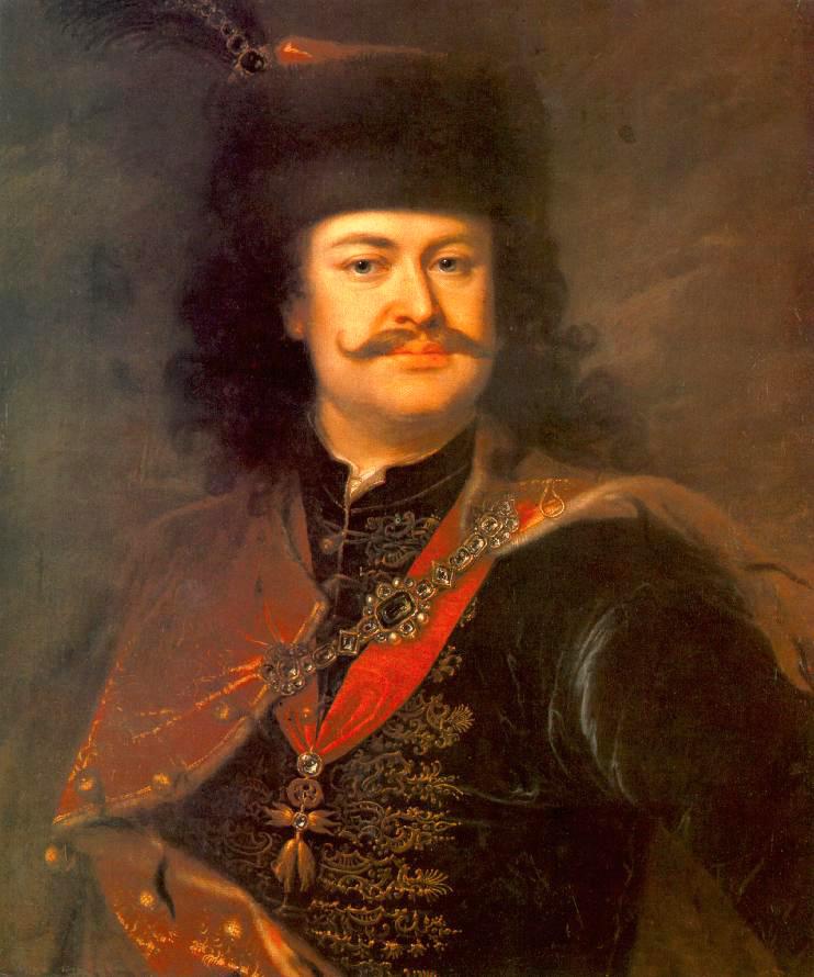 II. Rákóczi Ferenc - Mányoki Ádám festménye
