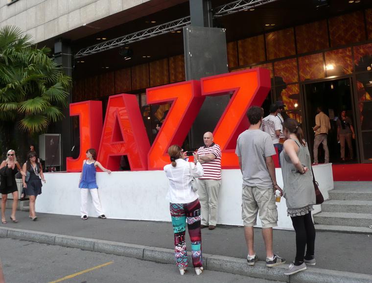 A Jazz Montreux-ben Foto Krupa Zsófia