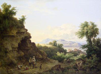 Markó Károly: Campagnai táj