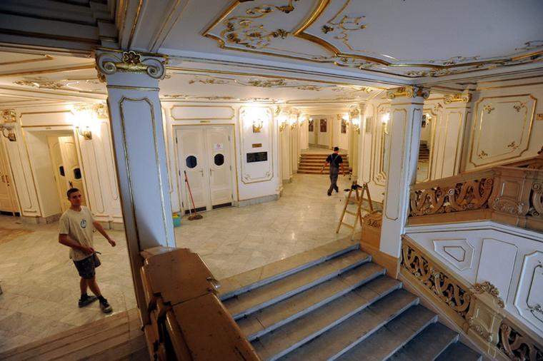 A felújított Pécsi Nemzeti Színház