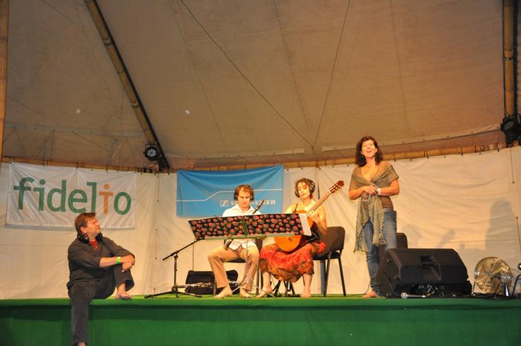 Sziget 1. nap - Mezítlábas Zenészek a Fidelio Octopus sátorban