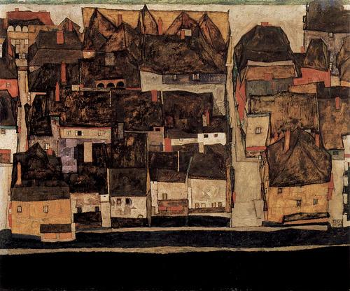 Egon Schiele: A Moldva melletti Krumau