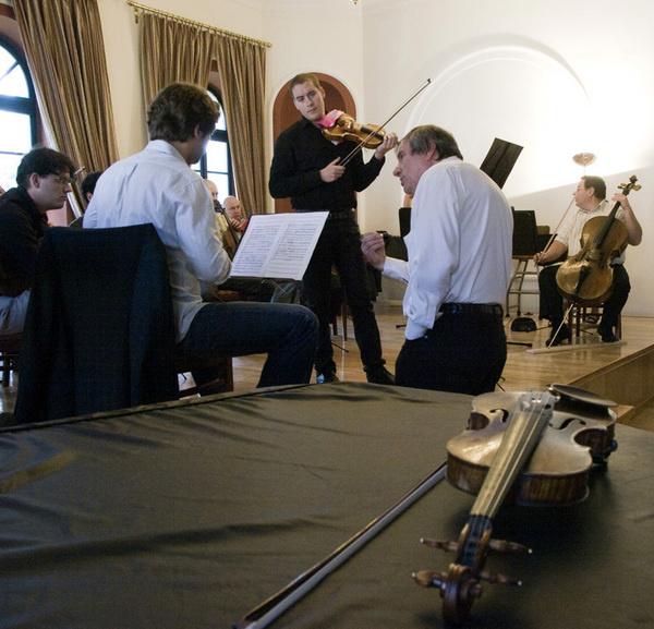 Baráti Kristóf, Rolla János és a Liszt Ferenc Kamarazenekar