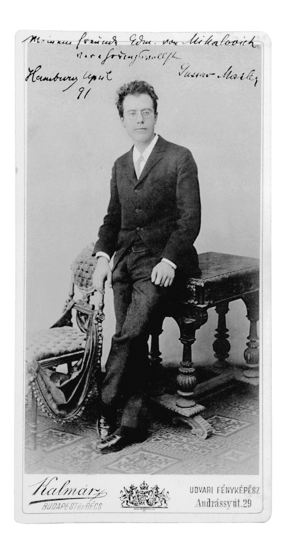 Mahler dedikációja Mihalovich Ödönnek