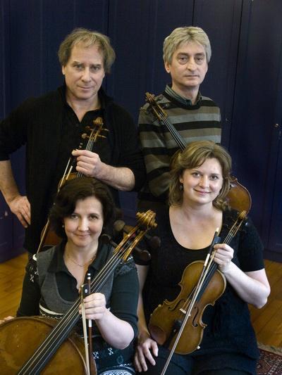 Keller Kvartett (Keller András, Gál Zoltán, Szabó Judit, Környei Zsófia)